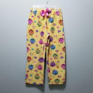 Komar Kids girls warm and cozy size 12 pj pants